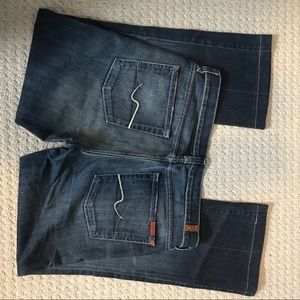 Seven for all mankind jeans size 32
